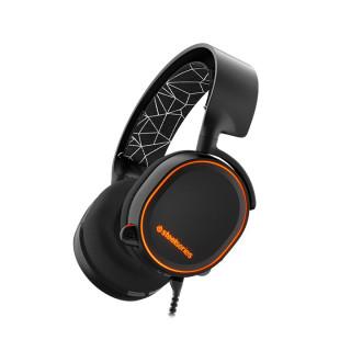 SteelSeries Arctis 5 (Fekete) headset PC