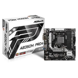 ASRock AM4 AB350M Pro4 (90-MXB520-A0UAYZ) PC