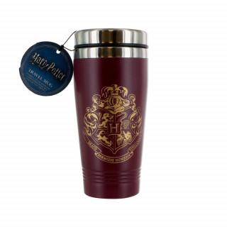 Harry Potter Hogwarts Travel Mug V2 - Utazó bögre - Good Loot AJÁNDÉKTÁRGY