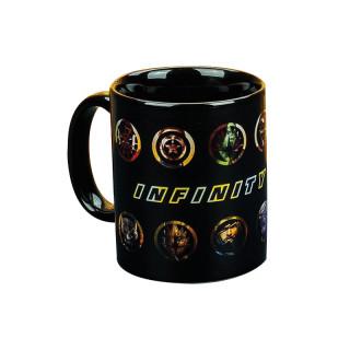 Marvel Avengers Infinity War Heat Change Mug - Hőérzékeny bögre - Good Loot AJÁNDÉKTÁRGY