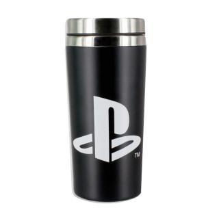 PlayStation Travel Mug - Utazó bögre - Good Loot AJÁNDÉKTÁRGY
