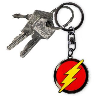 DC COMICS - Kulcstartó Flash Logo AJÁNDÉKTÁRGY