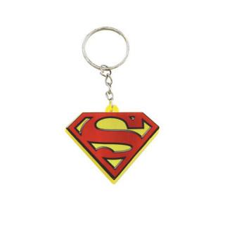 DC COMICS - Kulcstartó - Világítós Superman logó AJÁNDÉKTÁRGY