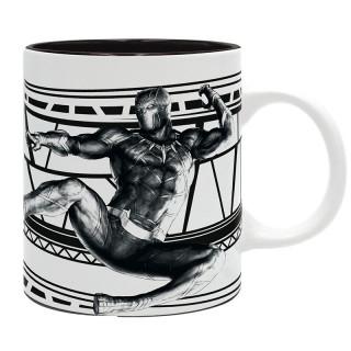 MARVEL - Bögre - Black Panther Wakanda (320ml) AJÁNDÉKTÁRGY
