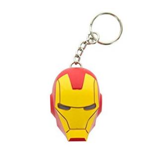 MARVEL - Világítós LED Kulcstartó - Iron Man AJÁNDÉKTÁRGY