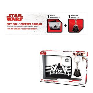 STAR WARS - Pénztárca + Kulcstartó - Darth Vader AJÁNDÉKTÁRGY