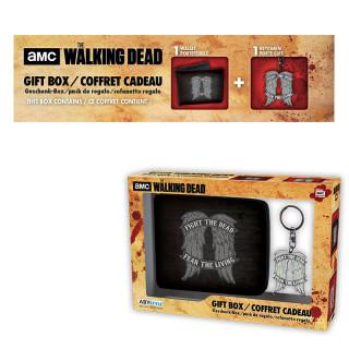 THE WALKING DEAD - Pénztárca + Kulcstartó - Daryl wings AJÁNDÉKTÁRGY