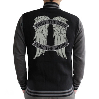 THE WALKING DEAD - Baseball Dzseki - Angel Wings (XXL-es méret) AJÁNDÉKTÁRGY