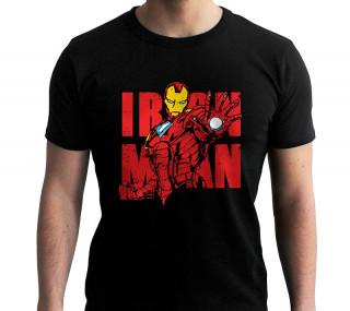 MARVEL - Póló - Iron Man Graphic (L-es méret) Ajándéktárgyak