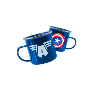 MARVEL - Fém Bögre - Marvel Avengers Captain America AJÁNDÉKTÁRGY