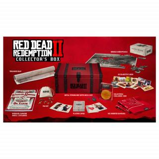 Red Dead Redemption 2 Collector's Box AJÁNDÉKTÁRGY