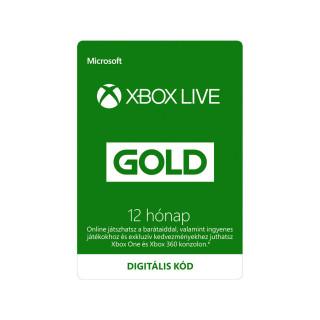 Xbox Live Gold 12 hónapos előfizetés (letölthető) MULTI