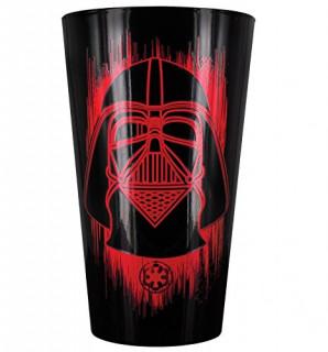 STAR WARS ROGUE ONE - Hőérzékeny Üvegpohár - Darth Vader (450ml) AJÁNDÉKTÁRGY