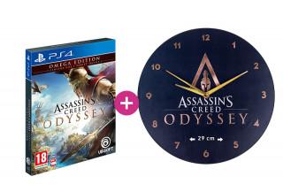 Assassin's Creed Odyssey Omega Edition + falióra PS4