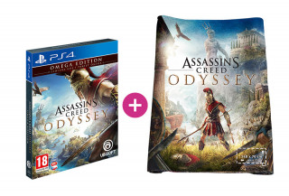 Assassin's Creed Odyssey Omega Edition + törölköző PS4