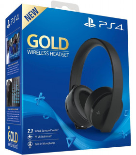 Sony Gold Wireless Headset (7.1) MULTI