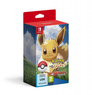 Pokémon Let's Go Eevee! + Poké Ball Plus Switch