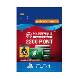 Madden NFL 19 Ultimate Team 2200 Points Pack - ESD HUN (Letölthető) PS4
