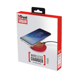 Trust 22818 Primo Vezeték nélküli okostelefon töltő (Piros) Mobil