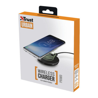 Trust 22816 Primo Vezeték nélküli okostelefon töltő (Fekete) Mobil