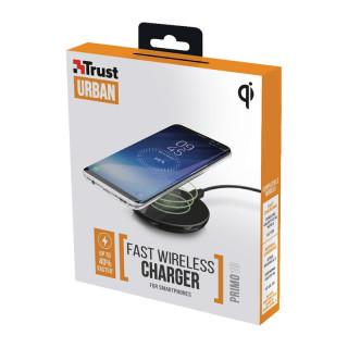 Trust 22861 Primo10 Fast gyors vezeték nélküli okostelefon töltő (Fekete) Mobil