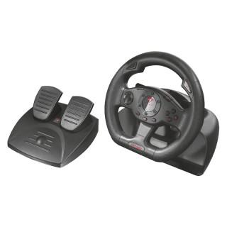 Trust 21414 GXT 580 Sano Vibration Feedback Racing Wheel PC