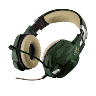 Trust 20865 GXT 322C Carus Gaming Headset - jungle camo PC