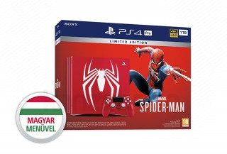 PlayStation 4 Pro (PS4) 1TB Limited Edition + Spider-Man PS4
