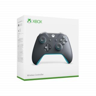 Xbox One vezeték nélküli kontroller (Szürke/Kék)