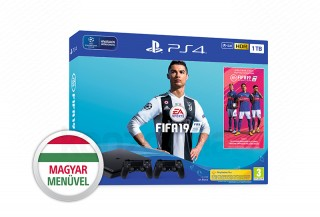PlayStation 4 (PS4) Slim 1TB + FIFA 19 + DualShock 4 kontroller PS4