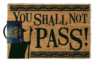 Lord of the Rings - Lábtörlő - You Shall Not Pass (40 x 60 cm) Ajándéktárgyak