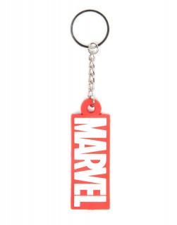 Marvel - Kulcstartó - Logo AJÁNDÉKTÁRGY