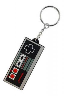 Nintendo - Gumi kulcstartó - NES kontroller (7 cm) AJÁNDÉKTÁRGY