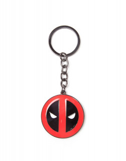Marvel - Kulcstartó - Deadpool Big Face (7 cm) AJÁNDÉKTÁRGY