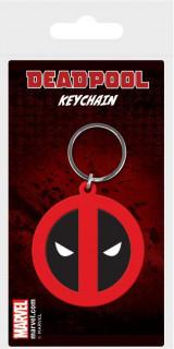 Marvel - Gumi kulcstartó - Deadpool (6 cm) AJÁNDÉKTÁRGY