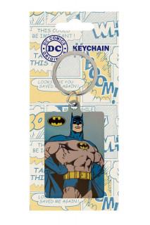 DC Comics - Fém kulcstartó - Batman (6 cm) AJÁNDÉKTÁRGY