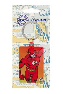 DC Comics - Fém kulcstartó - Flash (6 cm) AJÁNDÉKTÁRGY