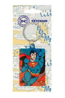 DC Comics - Fém kulcstartó - Superman (6 cm) AJÁNDÉKTÁRGY