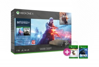 Xbox One X 1TB Gold Rush Special Edition + Battlefield V XBOX ONE