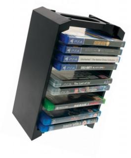 Venom VS3053 PS3, PS4, Xbox One, Blu-ray 12 db-os tartó állvány MULTI