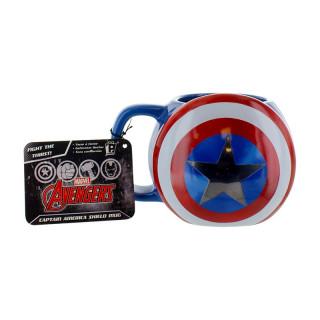 Marvel - Bögre - Captain America Shield (Good Loot) AJÁNDÉKTÁRGY