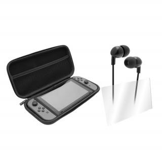 VENOM VS4793 Nintendo Switch Starter Kit (kijelzővédő, fülhallgató, tok) Switch