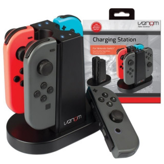 VENOM VS4796 Charging Station Nintendo Switch Joy-Con kontrollerhez Switch