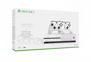 Xbox One S 1TB két kontrollerrel XBOX ONE