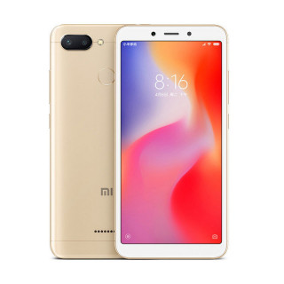 Xiaomi Redmi 6 32GB Gold Mobil