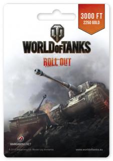 World of Tanks 2250 Gold PC