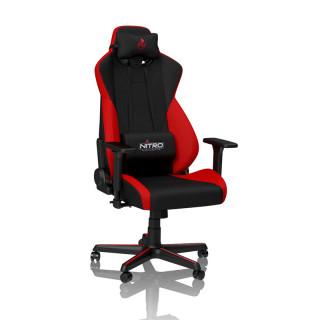 Nitro Concepts S300 Inferno Fekete/Piros Gamer szék PC