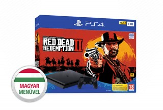PlayStation 4 (PS4) Slim 1TB + Red Dead Redemption 2 PS4