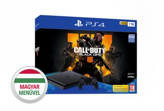 PlayStation 4 (PS4) Slim 1TB + Call of Duty: Black Ops 4 PS4