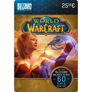 Blizzard - World of Warcraft 60 napos előfizetés PC